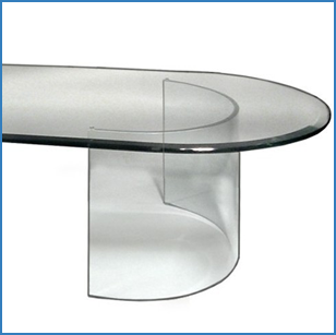 Ideas With Oval Shaped Glass Table Tops