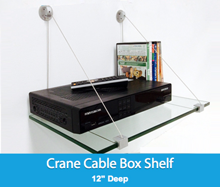 Crane Cable Box Shelf