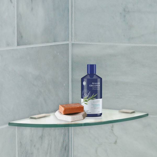 Glass Shower Shelves