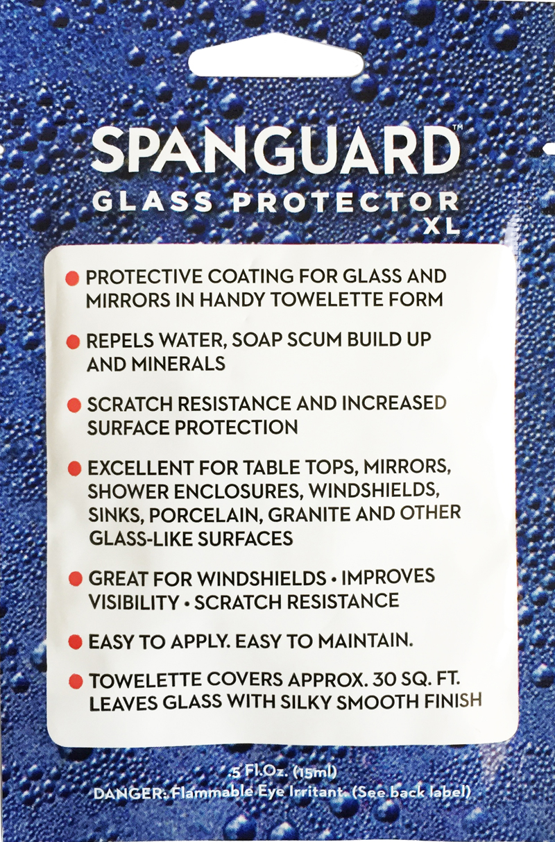 Spanguard Glass and Surface Coating