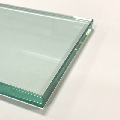Example of a Clear Glass Table Top