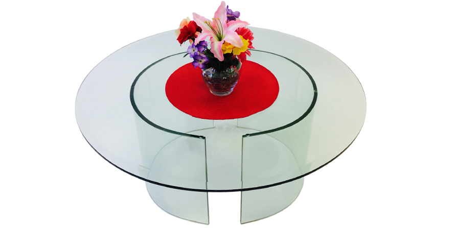 "581-34R - 34"" Round - 581 C Cocktail Table"