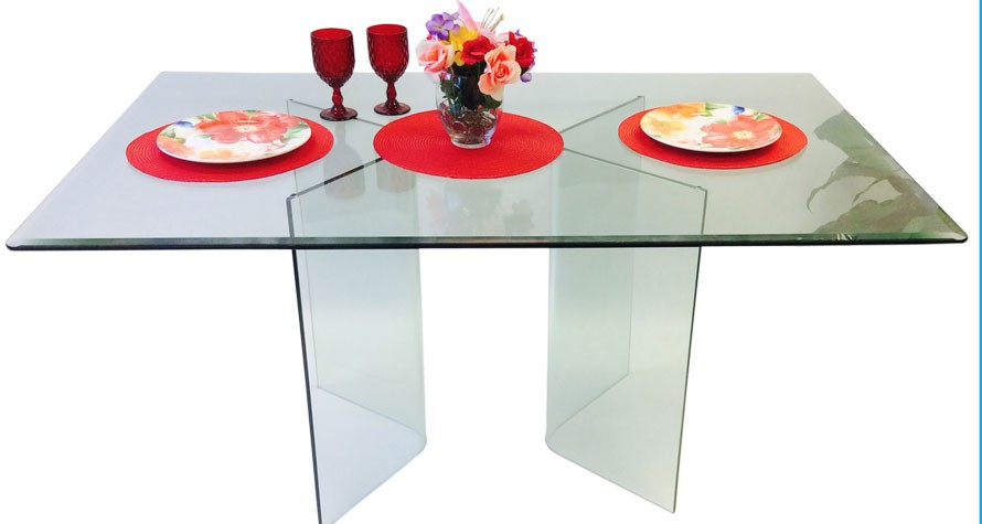 585 VEE DINING TABLE BASE ONLY (Set of 2)