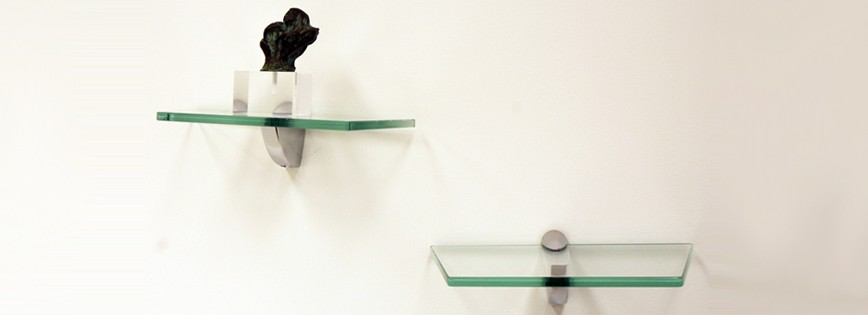 "6 1/2"" x 12"" Collector Glass Shelf"