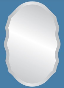 Isabel Frameless Mirror