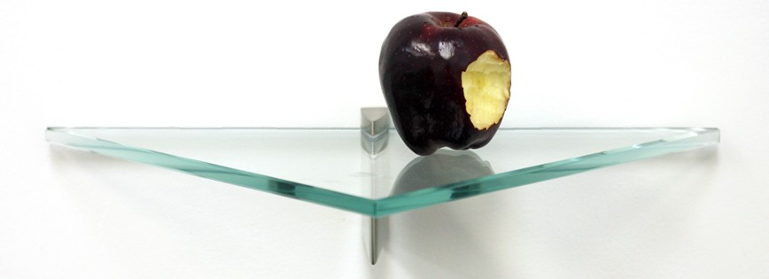 "8 1/2"" x 17"" Jazz Glass Shelf"