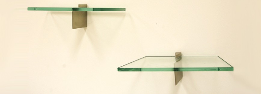 "6 1/2"" x 12"" Memento Glass Shelf"