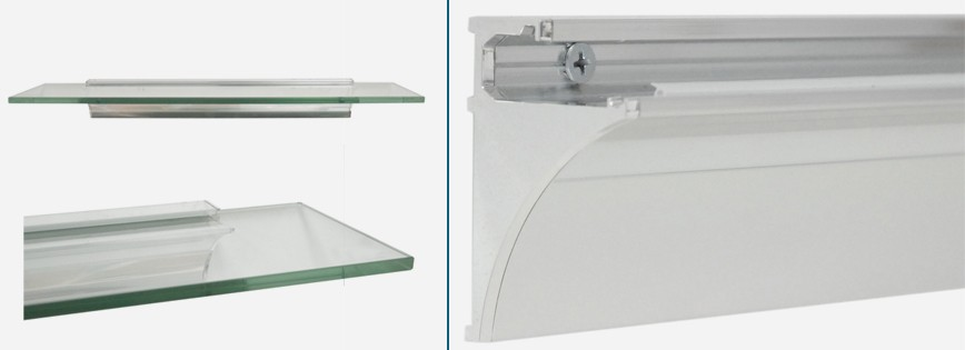 Rail Wall Shelf Bracket