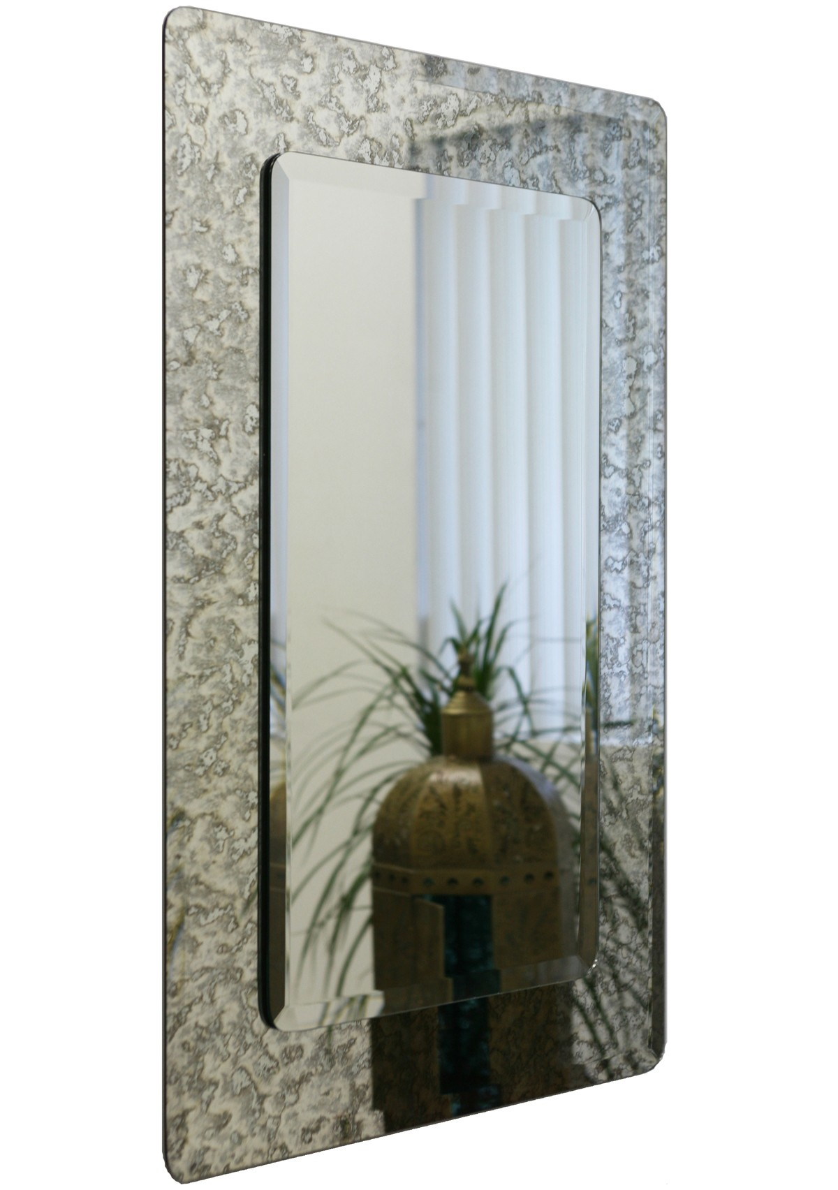 Rectangle Antique Mirror