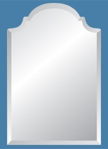 Regal Frameless Mirror