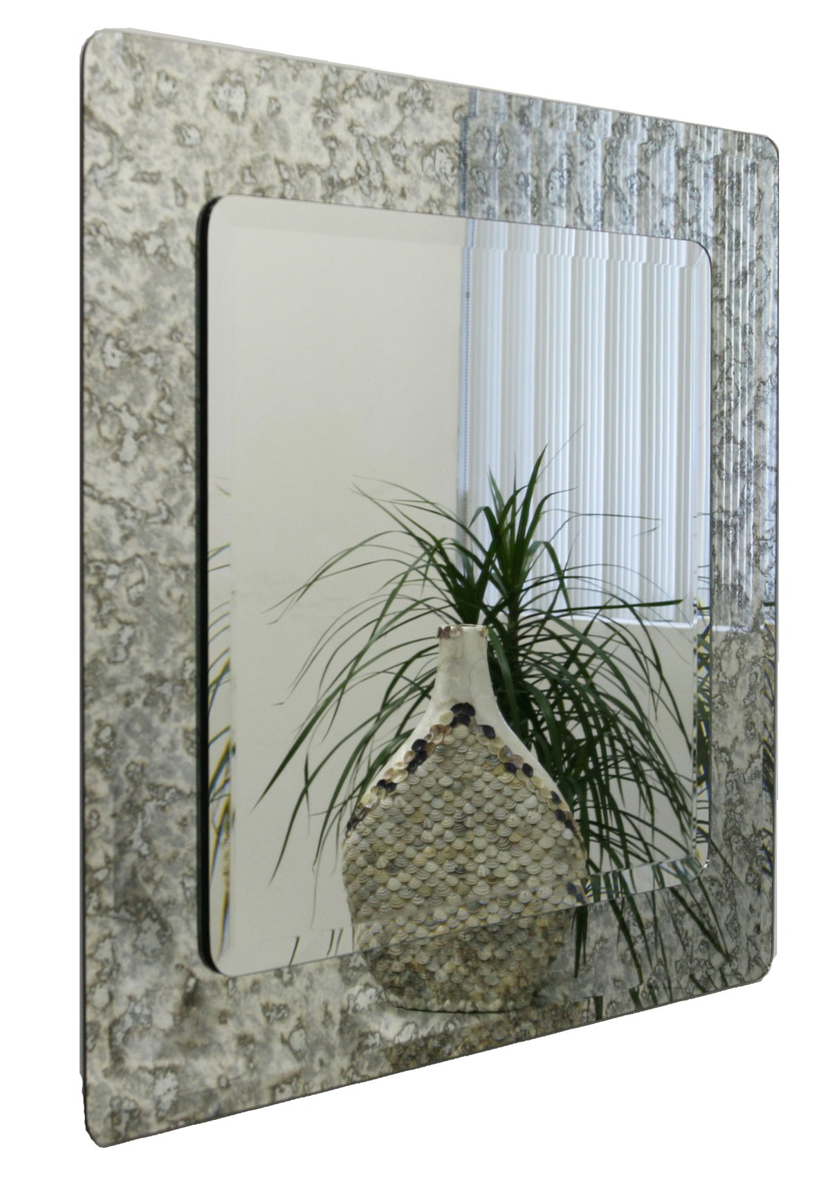 Square Antique Mirror
