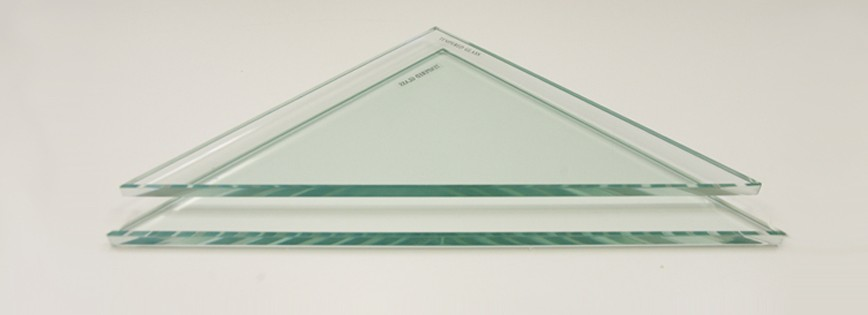Delicieux Triangle Glass Only Shelf Replacement