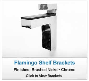 Flamingo Shelf Bracket